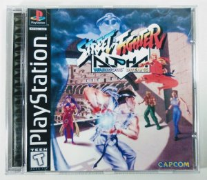 Street Fighter Alpha [REPLICA] - PS1 ONE