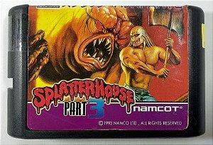 Splatter House part 3 - Mega Drive