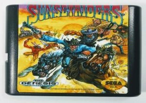 Sunset Riders - Mega Drive