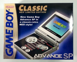 Caixa Game Boy Advance SP Nes edition [Replica] - GBC