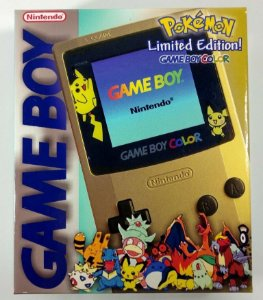 Caixa Game Boy Color Pokémon edition [Replica] - GBC