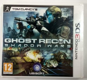 Ghost Recon Shadow Wars Original (LACRADO) [Europeu] - 3DS