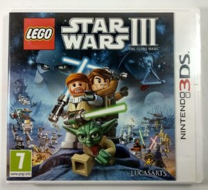 Lego Star Wars III Original (LACRADO) [Europeu] - 3DS