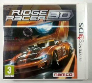 Ridger Racer 3D Original (LACRADO) [Europeu] - 3DS