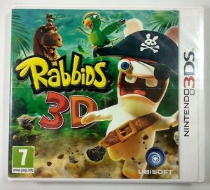 Rabbids 3D Original (LACRADO) [Europeu] - 3DS