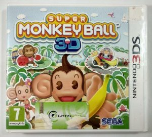 Super Monkey Ball 3D Original (LACRADO) [Europeu] - 3DS