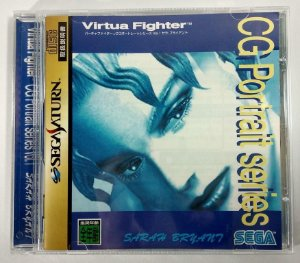 Virtua Fighter Cg Portrait Vol 1 Original [Japonês] - Sega Saturn
