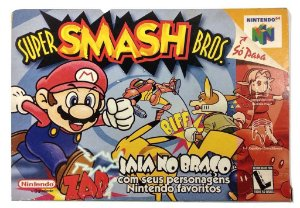 Caixa Super Smash Bros - N64
