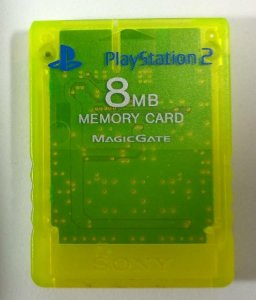Memory Card (verde) Original - PS2