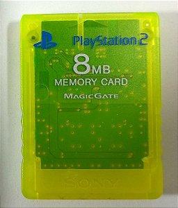 Memory Card (verde) Original - PS2