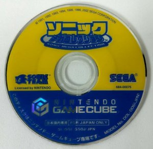 Sonic Mega Collection Original [Japonês] - GC