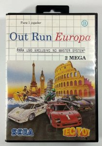 Out Run Europa - Master System