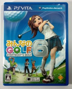 Everybody's Golf 6 [JAPONÊS] - PS Vita