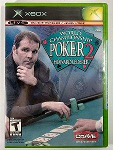 World Championship Poker 2 Original (LACRADO) - Xbox Clássico