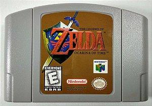 Jogo Zelda Ocarina of Time - N64