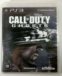 Jogo Call of Duty Ghosts - PS3