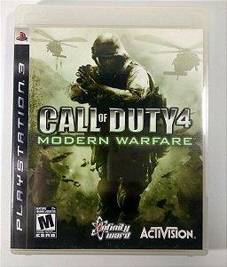 Call of Duty 4 Modern Warfare - PS3