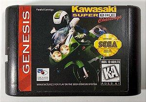 Kawasaki Super Bike Challenge - Mega Drive