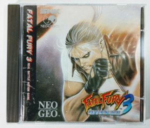 Fatal Fury 3 Original - Neo Geo CD