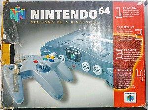 Nintendo 64 + Super Mario 64 - N64