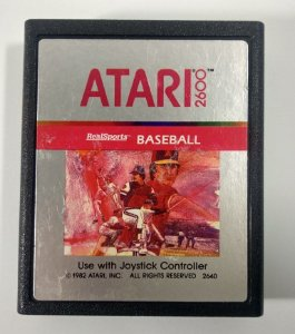 Real Sports Baseball Original - Atari