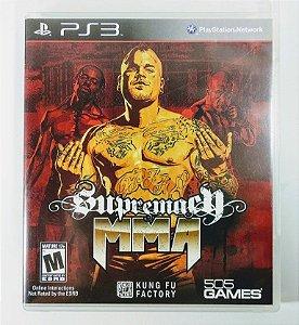 Jogo Supremacy MMA - PS3