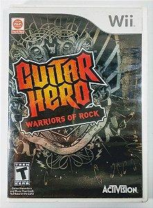 Guitar Hero Warriors of Rock - Wii