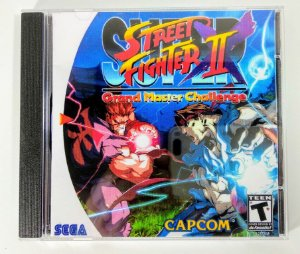 Super Street Fighter II Grand Master Challenge [REPLICA] - Dreamcast