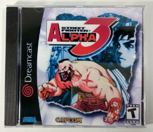 Street Fighter Alpha 3 [REPLICA] - Dreamcast