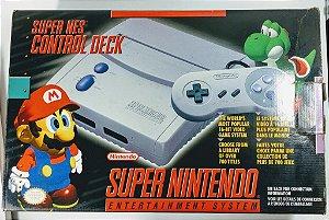 Super Nintendo Baby na caixa - SNES