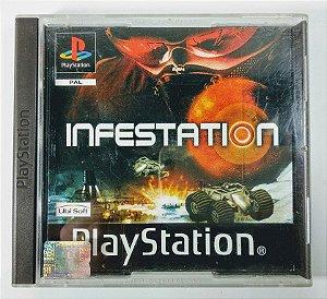 Jogo Infestation Original [EUROPEU] - PS1 ONE