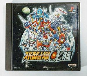 Super Robot Taisen Alpha Gaiden Original [JAPONÊS] - PS1 ONE