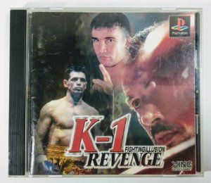 K-1 Revenge Original [JAPONÊS] - PS1 ONE