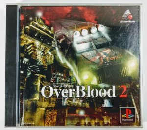 Over Blood 2 Original [JAPONÊS] - PS1 ONE