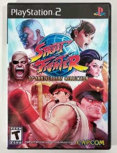 Street Fighter 30° Anniversary Collection [REPLICA] - PS2