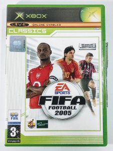 Fifa Football 2005 Original [EUROPEU] - Xbox Clássico
