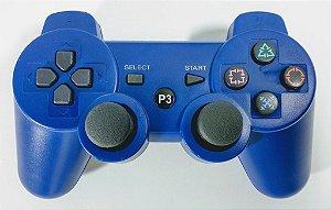 Controle sem fio Azul - PS3