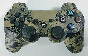 Controle sem fio Camuflado - PS3