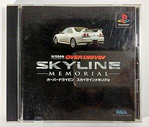 Over Drivin Skyline Memorial Original [JAPONÊS] - PS1 ONE
