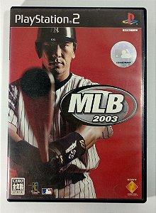 MLB 2003 Original [JAPONÊS] - PS2