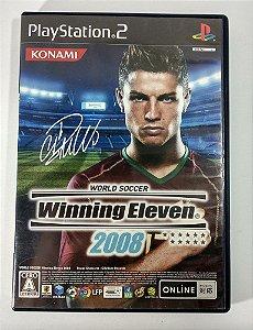 Winning Eleven 2008 Original [JAPONÊS] - PS2