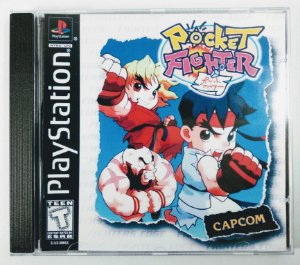 Pocket Fighter [REPLICA] - PS1 ONE