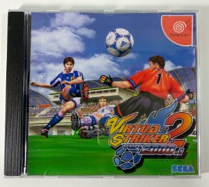 Virtua Striker 2 ver 2000.1 [REPLICA] - Dreamcast