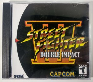 Street Fighter III Double Impact [REPLICA] - Dreamcast