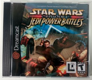 Star Wars Jedi Power Battles [REPLICA] - Dreamcast