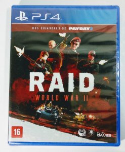 Jogo Raid World War II (lacrado) - PS4