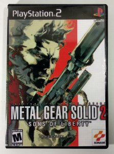 Metal Gear Solid 2 [REPLICA] - PS2