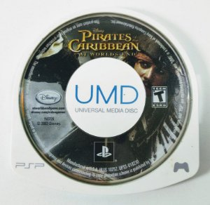 Pirates Caribbean at Worlds end - PSP