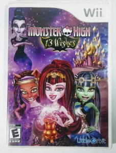 Monster High 13 Wishes - Wii
