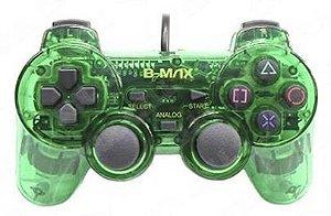 Controle transparente (Verde) - PS1 ONE/ PS2